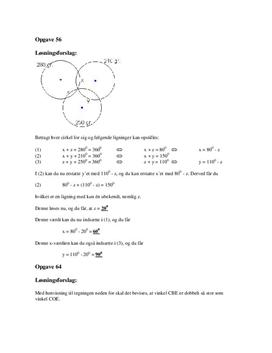Problemløsning i geometri | Løsningsforslag