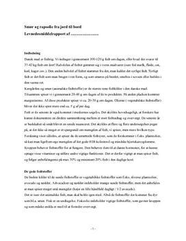 Smør og rapsolie | Undervisningsforløb