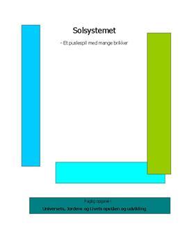 Solsystemet | Eksamensopgave