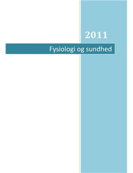Fysiologi og sundhed | Studieprodukt