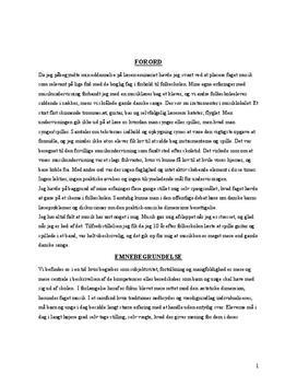 Musik om identitetsdannelse | Bacheloropgave