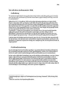 KLM om etik og anerkendelse