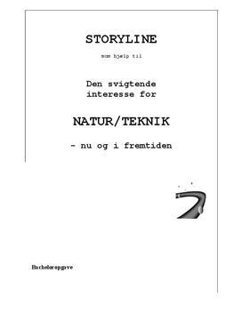 Storyline i Natur/teknologi